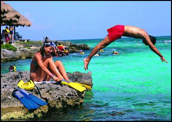 Snorkeling at Xpu Ha Palace